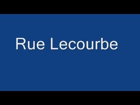 Rue Lecourbe Paris Arrondissement- 15e