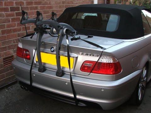 Bike Rack Carrier for Audi TT Roadster Mazda MX5 MGF BMW Z3 Z4 Honda S2000 Mercedes SL/SLK