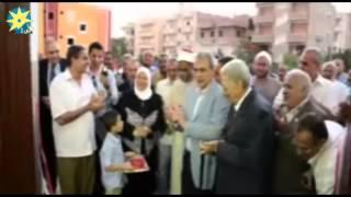 بالفيديو..محافظ المنيا، يفتتح مسجد