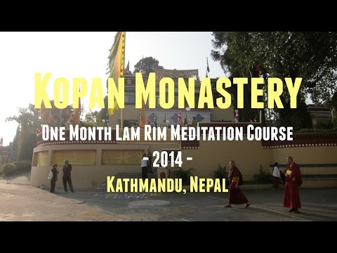 Kopan Monastery: One Month Lam Rim Meditation Course 2014