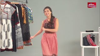 New Ways to Wear your Kurta – Rochelle Rao Shows you How