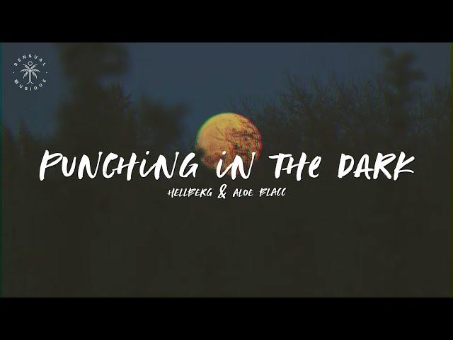 Hellberg & Aloe Blacc - Punching in the Dark (Lyrics)