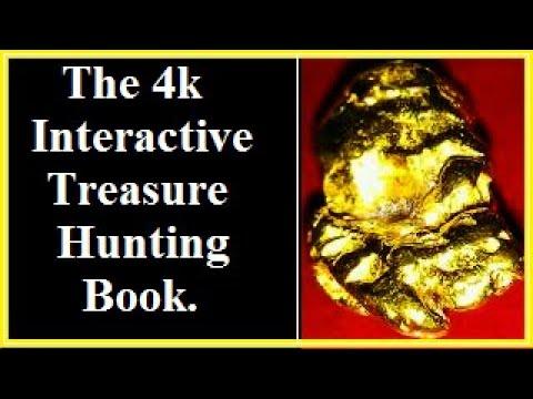 The 4k Interactive Treasure Hunting Book.