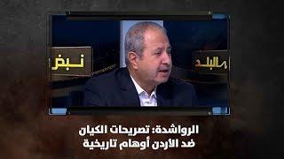 الرواشدة: تصريحات الكيان ضد الأردن أوهام تاريخية - نبض البلد