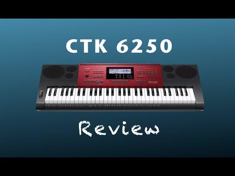 Review do Casio CTK 6250 (Demo)