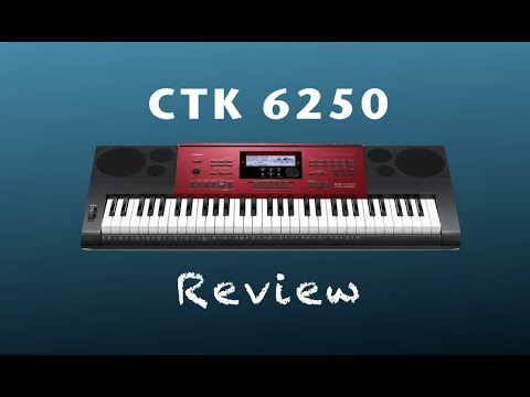 73ca80152ef Review do Casio CTK 6250 (Demo) - YouTube
