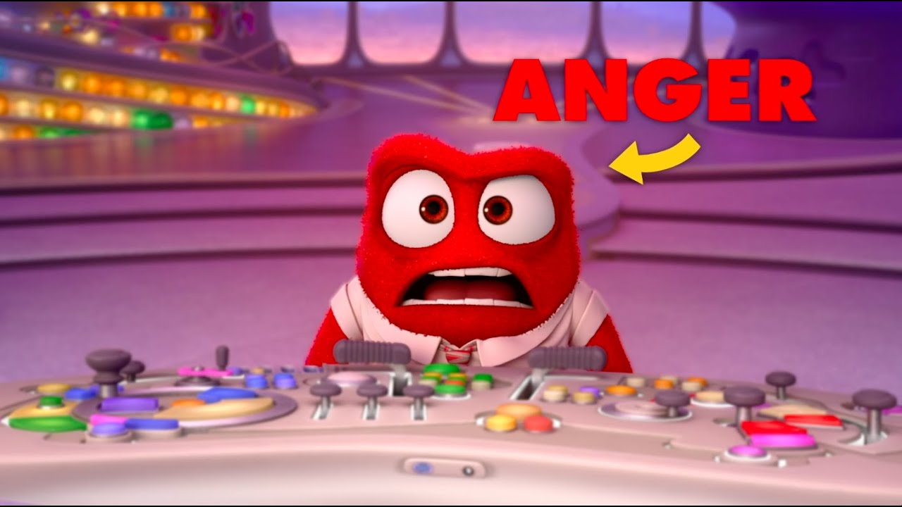 Get To Know Your Inside Out Emotions Anger Youtube