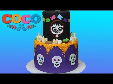 Coco Disney/Pixar Cake Tutorial!