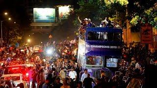 Champions Parade with One Family | Mumbai Indians