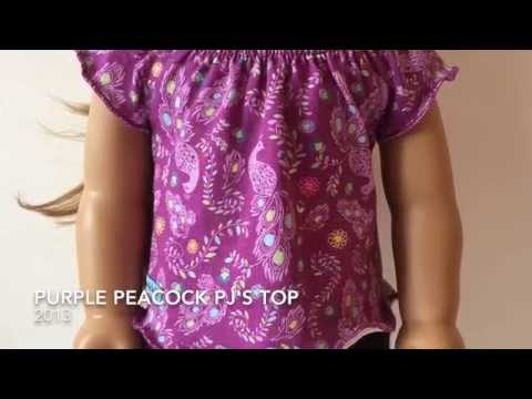 American Girl Doll OOTW Pajama To Everyday