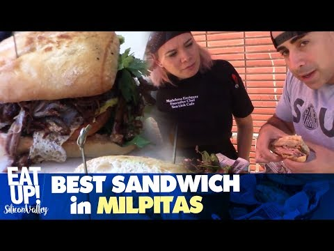 Best Sandwiches in the BAY AREA! (Sea Link Cafe | Milpitas, CA)