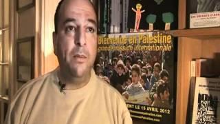 Jacque Neno souhaite la bienvenue à la mission Bienvenue en Palestine