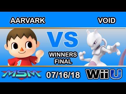 MSM 155 - Meliora | Aavark (Villager) Vs CLG | VoiD (Mewtwo,Shiek) Winners Final - Smash 4