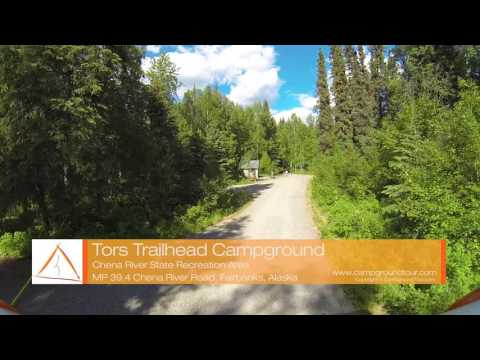 Tors Trailhead Campground, Chena River State Recreation Area, Fairbanks, Alaska