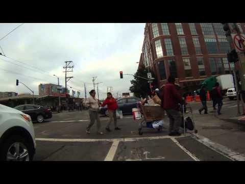 Bike SF: Embarcadero & Townsend & Reverse