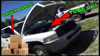 MORE TRUCK PARTS!! ADDING NEW SPARK TO SUPER RAM! thumbnail