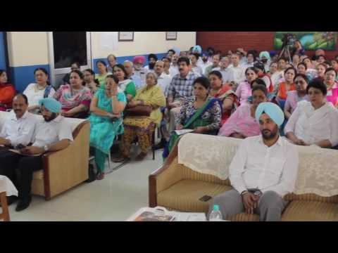Motivational Talk by Mr. Vivek Atray - IAS Officer at Govt. School, Sector 16, Chandigarh