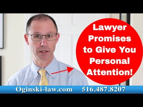 Every Attorney Says They Give You Personal Attention-What Kind of Ridiculous Guarantee is That?