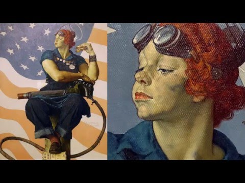 Norman Rockwell, Rosie The Riveter
