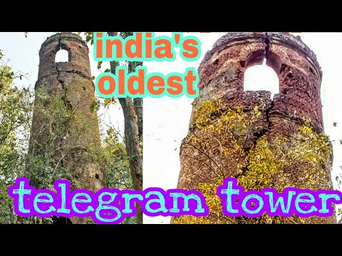 How British send emergency massages in india || telegrame tower ruined