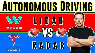 LiDAR vs Radar - Autonomous Driving | Did Elon Change His Mind?! 🚀