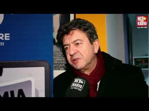 INTERVIEW JEAN-LUC MELENCHON A HEM RABAT - HIT RADIO