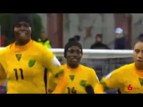 Jamaica Reggae Girlz Created History by qualifying for the World Cup | Jamaica vs Panama   2 - 2