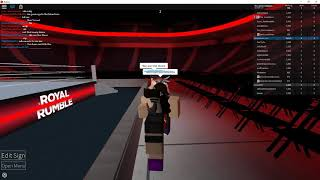 WWE ROYAL RUMBLE (WWE 2K18 Beta) (Roblox)