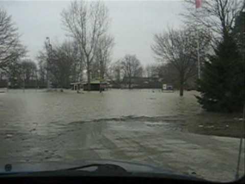 Sydenham River Flood - Dresden - February 12 2009