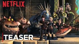 DreamWorks Dragons: Race to the Edge Teaser - Netflix [HD]