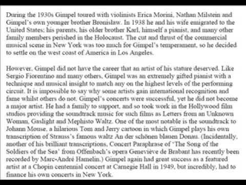 Jakob Gimpel - Beethoven - Emperor Concerto - 1st Movt - Part 1 of 3