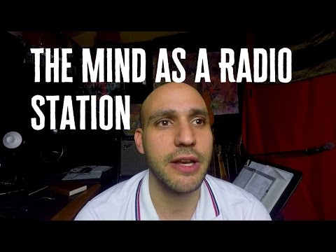 If your mind was a radio station, broadcasting every thought - #64