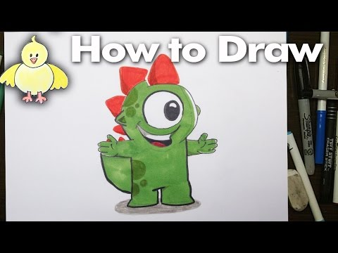 Drawing: How To Draw Kizi - Step By Step