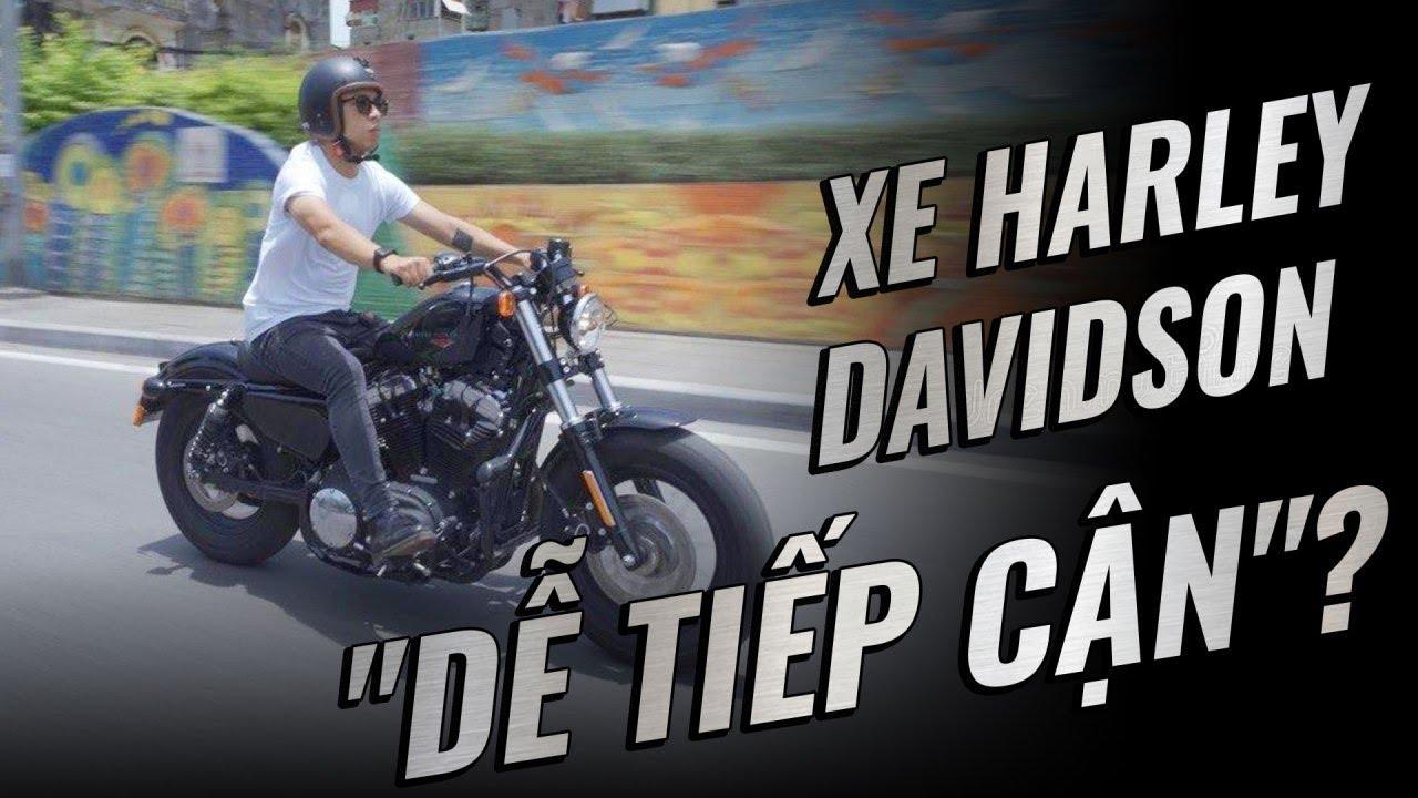 Harley Davidson 48: bước chân đầu tiên vào thế giới cơ bắp | Đường 2 Chiều
