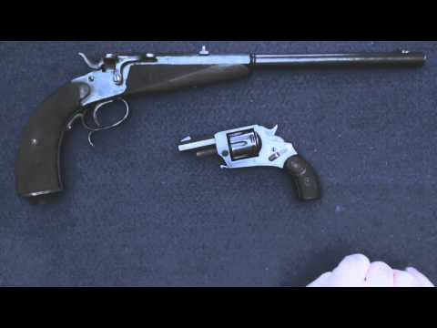 Live Auction Tips and 2 Antique German Handguns