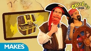 Cbeebies: Swashbuckle - Presenters Treasure Chest Make