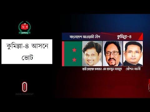 কুমিল্লা-৪ আসন জয়ে মুখিয়ে আ.লীগ-বিএনপি || Comilla-4 Election