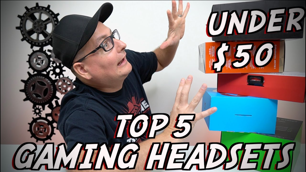 Download TOP 5 GAMING HEADSETS UNDER $50 (mic test, and tested on all gaming platforms)