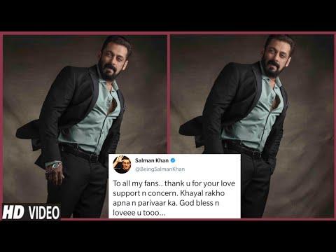 Salman Khan Shares Latest Post On Social Media Thanks Fans For All The Support|Loyal Fans Salmaniacs