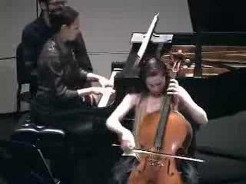 2 of 2:  Brahms Cello Sonata No. 1 Op. 38, First movement
