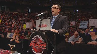 "The Miz pummels Jerry ""The King"" Lawler: Monday Night Raw, Dec. 27, 2010"