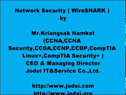 Network Security ( WireSHARK ) by Jodoi