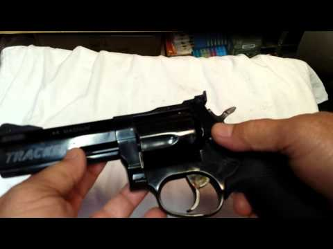 Taurus Tracker 44 Magnum Shooting Review