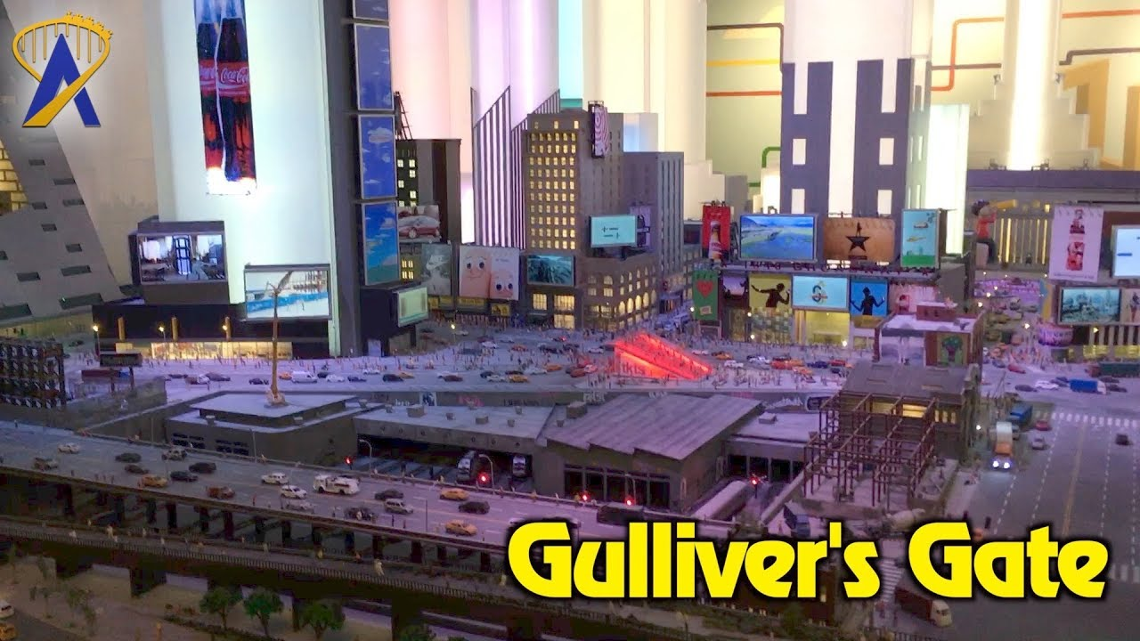 Gulliver's Gate miniature experience now open in Times ...