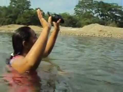Los Jiménez en el río Mamoní