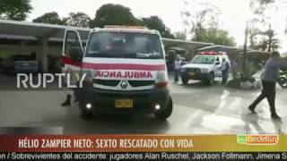 Colombia: Sixth plane crash survivor arrives at hospital after late discovery