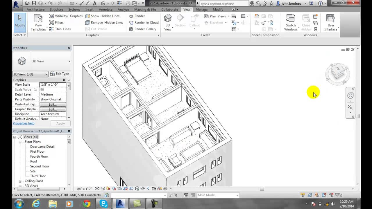Revit 06-28 Making Elements Transparent
