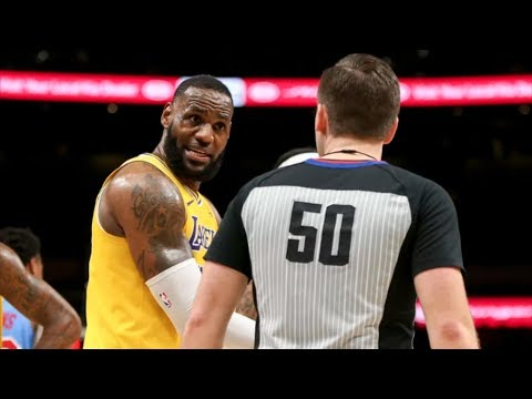 Hawks Beat Lakers! LeBron Triple Double, Under .500! 2018-19 NBA Season