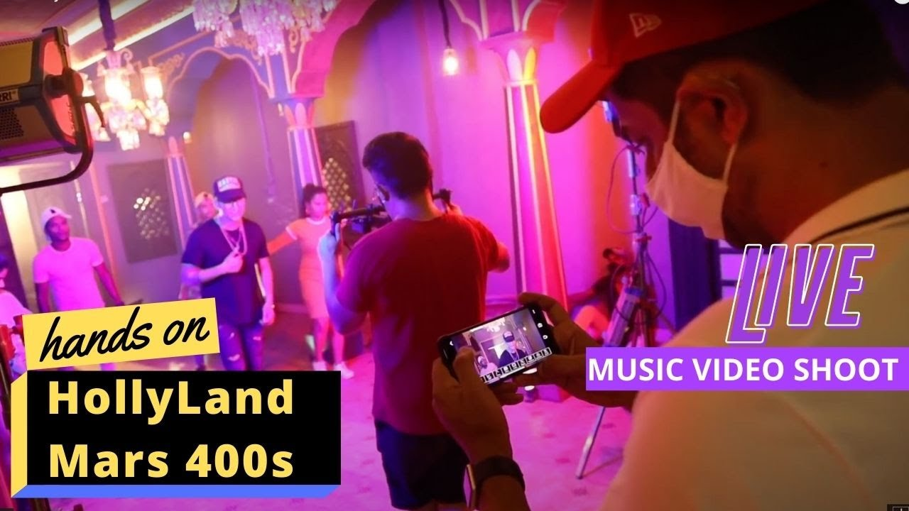 Using Hollyland Mars 400S   Music Video Shoot   SDI/HDMI Wireless Video Transmission system (Hindi)