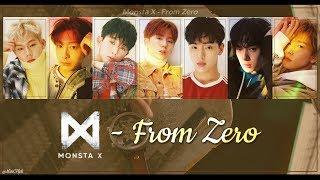 [Thaisub+Karaoke] Monsta X - From Zero